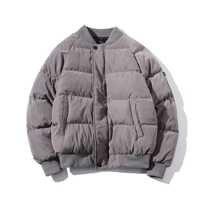 Padded Warm Bomber Coat