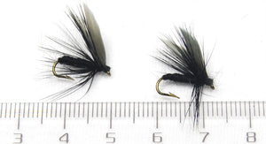 6 piece Black Fly set #12