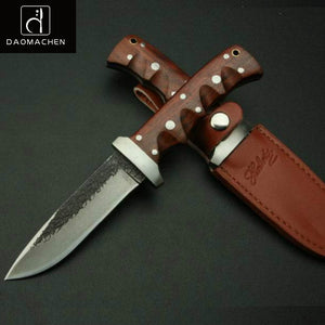 DAOMACHEN Rosewood Handle Knife