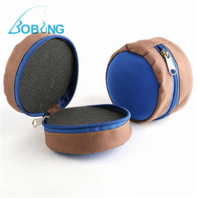 BOBING Zippered Fly Reel Pouch