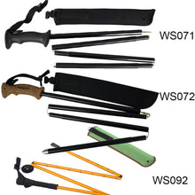 Collapsible Wading Staff  3 Configurations
