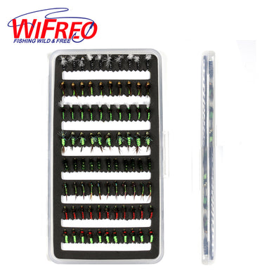 Wifreo 84pc Assorted Nymphs with Ultra Thin Box