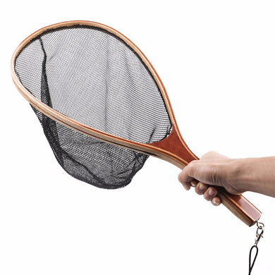 Wood Fly Fishing Net