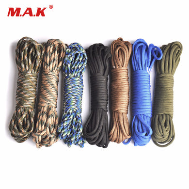 Paracord 550 Mil Spec Type III 7 Strand-25, 50 or 100 foot lengths