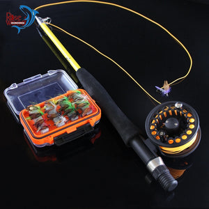 Telescopic Travel Fly Rod & Reel combo