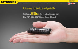 Nitecore THUMB 85LM USB Portable Multi-function LED Key chain Work Light