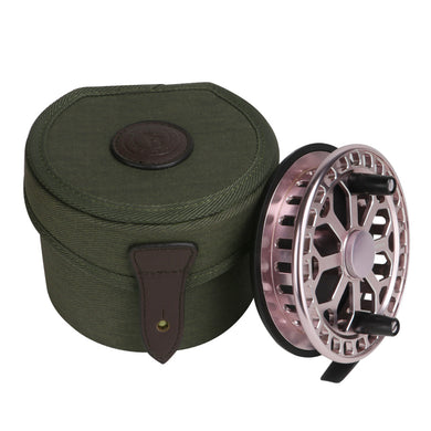 Tourbon Classic Canvas Fly Reel Case