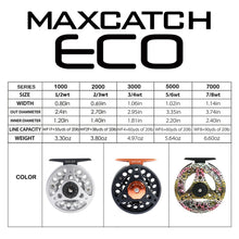 Maximumcatch ECO 1/3/4/5/6/7/8WT Fly Reel