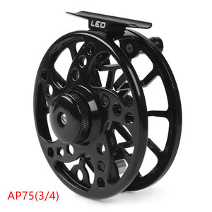 LIXADA Aluminum Alloy Black Fishing Reel 3/4 / 5/6 / 7/8