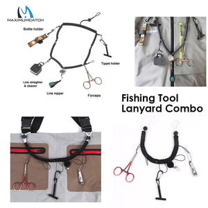 Hand Woven Fly Fishing Lanyard with Accessories