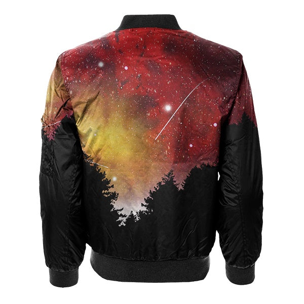 Red Lights Bomber Jacket