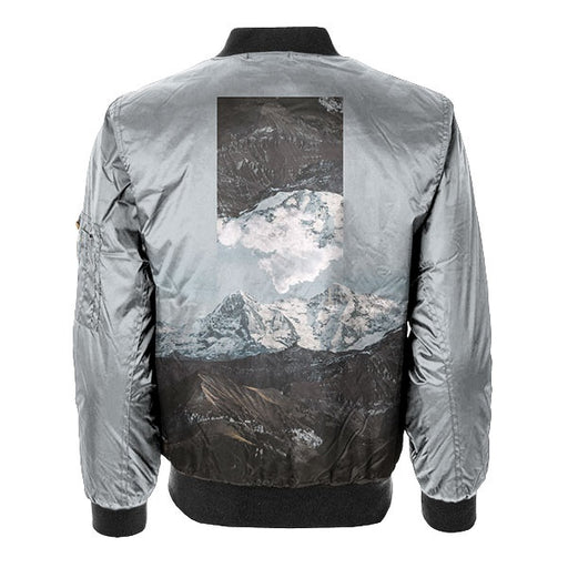 Tilted Bomber Jacket
