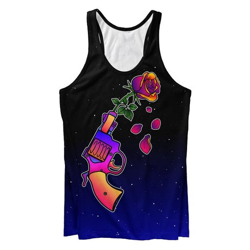 Gun n' Rose Tank Top