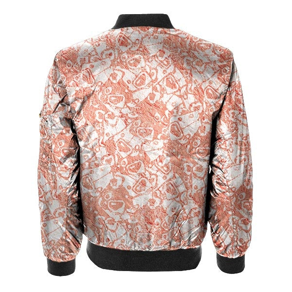 Pattern Design Bomber Jacket