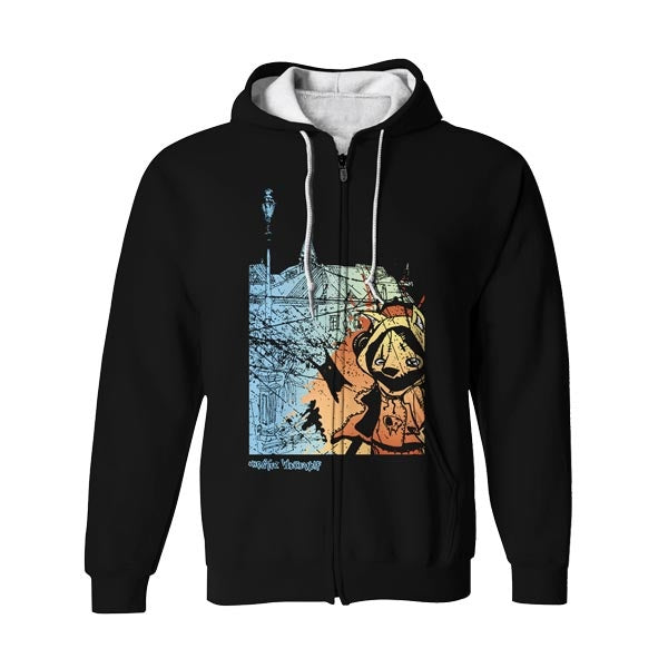 FoxSplash Zip Up Hoodie