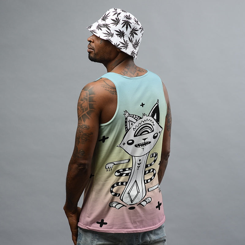 GradientCat Tank Top