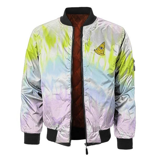 ColorStrip Bomber Jacket