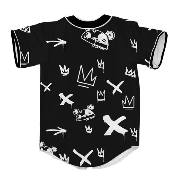 Kings Pattern Black Jersey