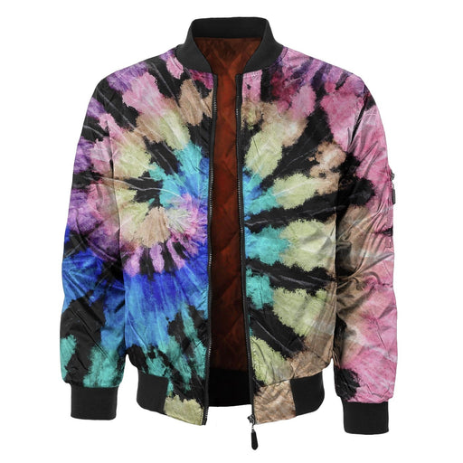 Black Sunrise Bomber Jacket