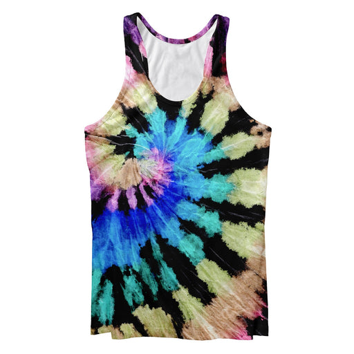 Black Sunrise Tank Top