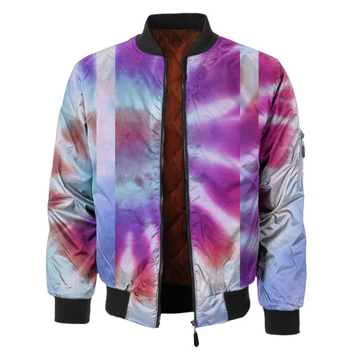 Discoloration Bomber Jacket