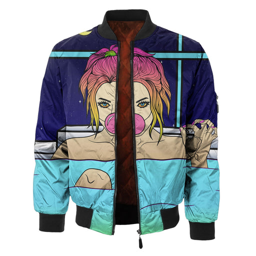 Bubble Bath Bomber Jacket