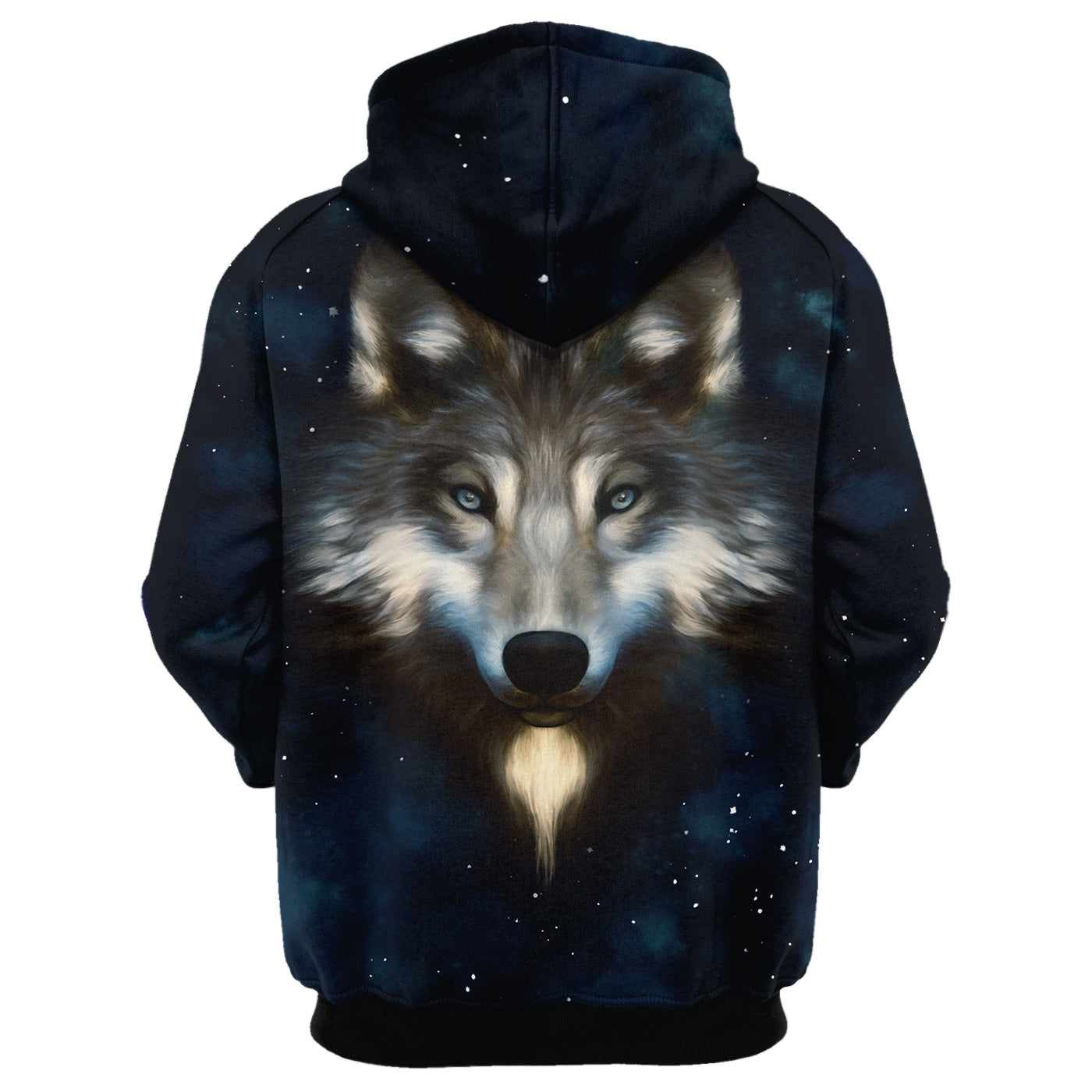 Wolf In Night Hoodie