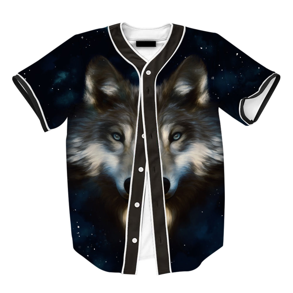 Wolf In Night Jersey