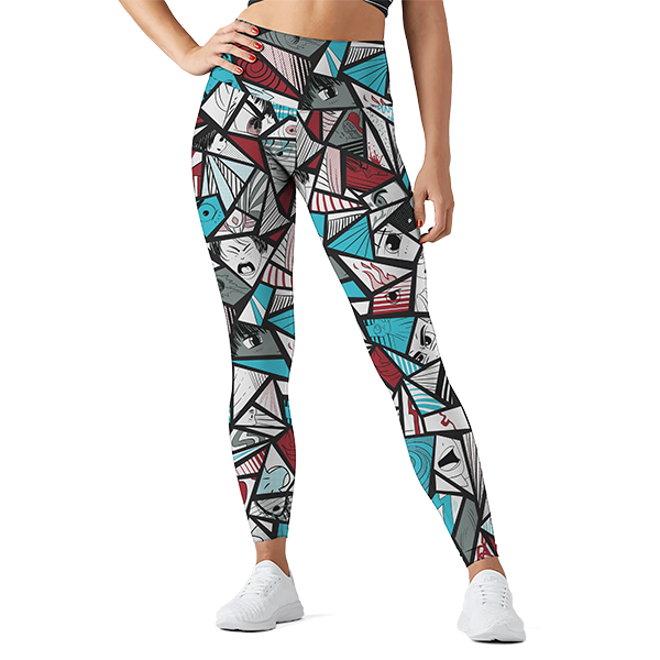 Anime Disrupt Leggings