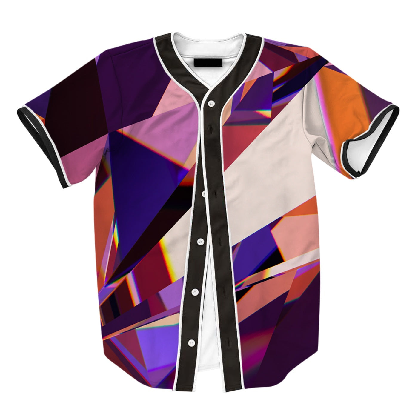 Abstract Purple Crystal Jersey