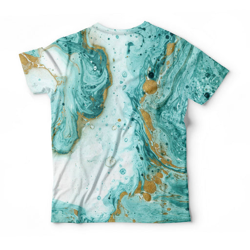 Decorative Marble Texture T-Shirt