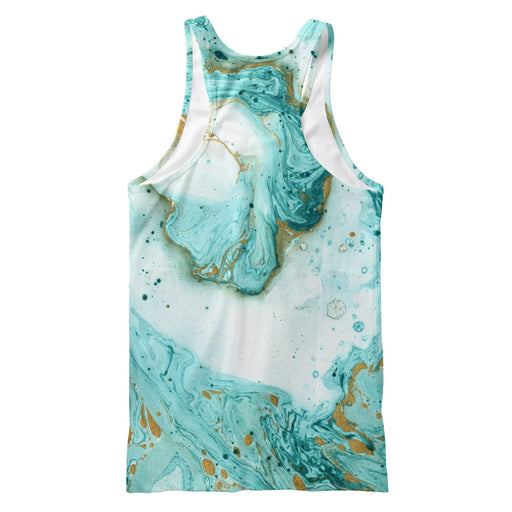 Decorative Marble Texture Tank Top