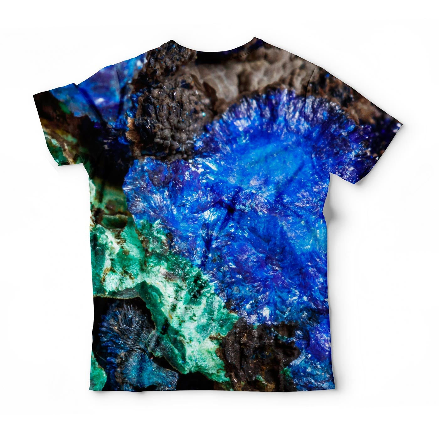 Mineral Stone Malachite With Azurite T-Shirt
