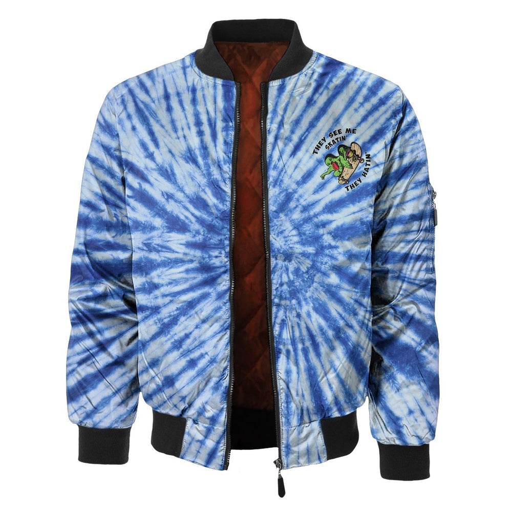 Skate Monster Bomber Jacket