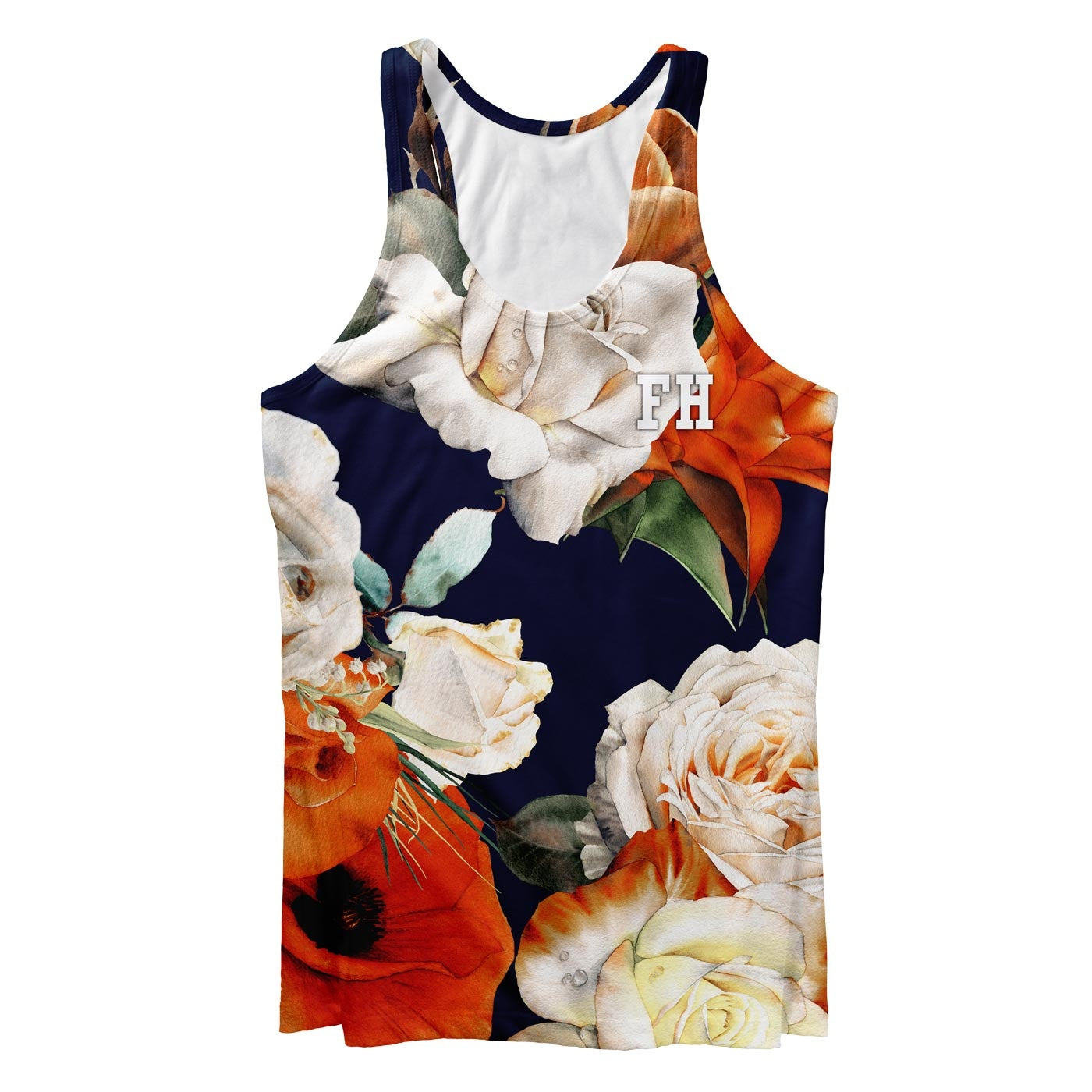 Rose Blossom Tank Top