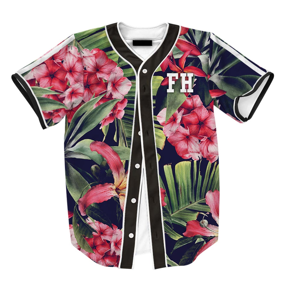Exotic Floral Jersey