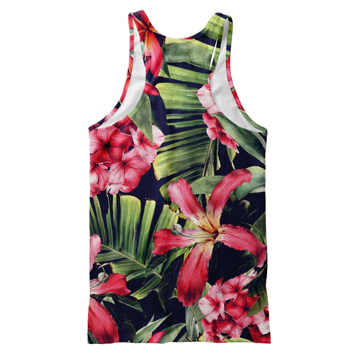 Exotic Floral Tank Top