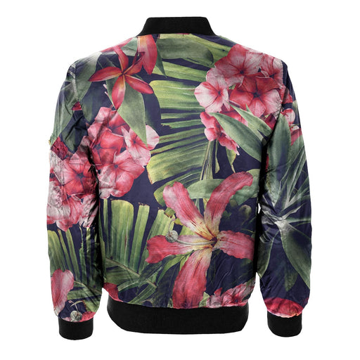 Exotic Floral Bomber Jacket