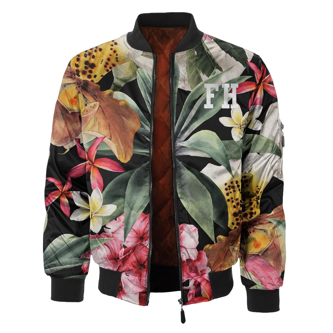 Secret Garden Bomber Jacket