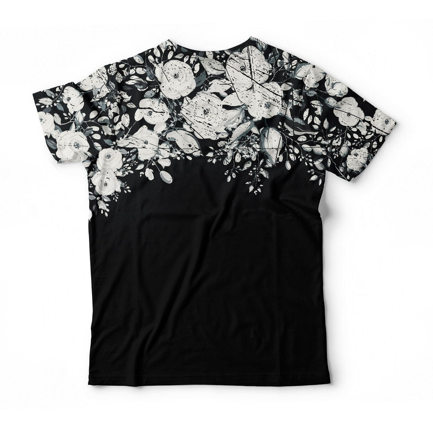 White Rose Blossom T-Shirt