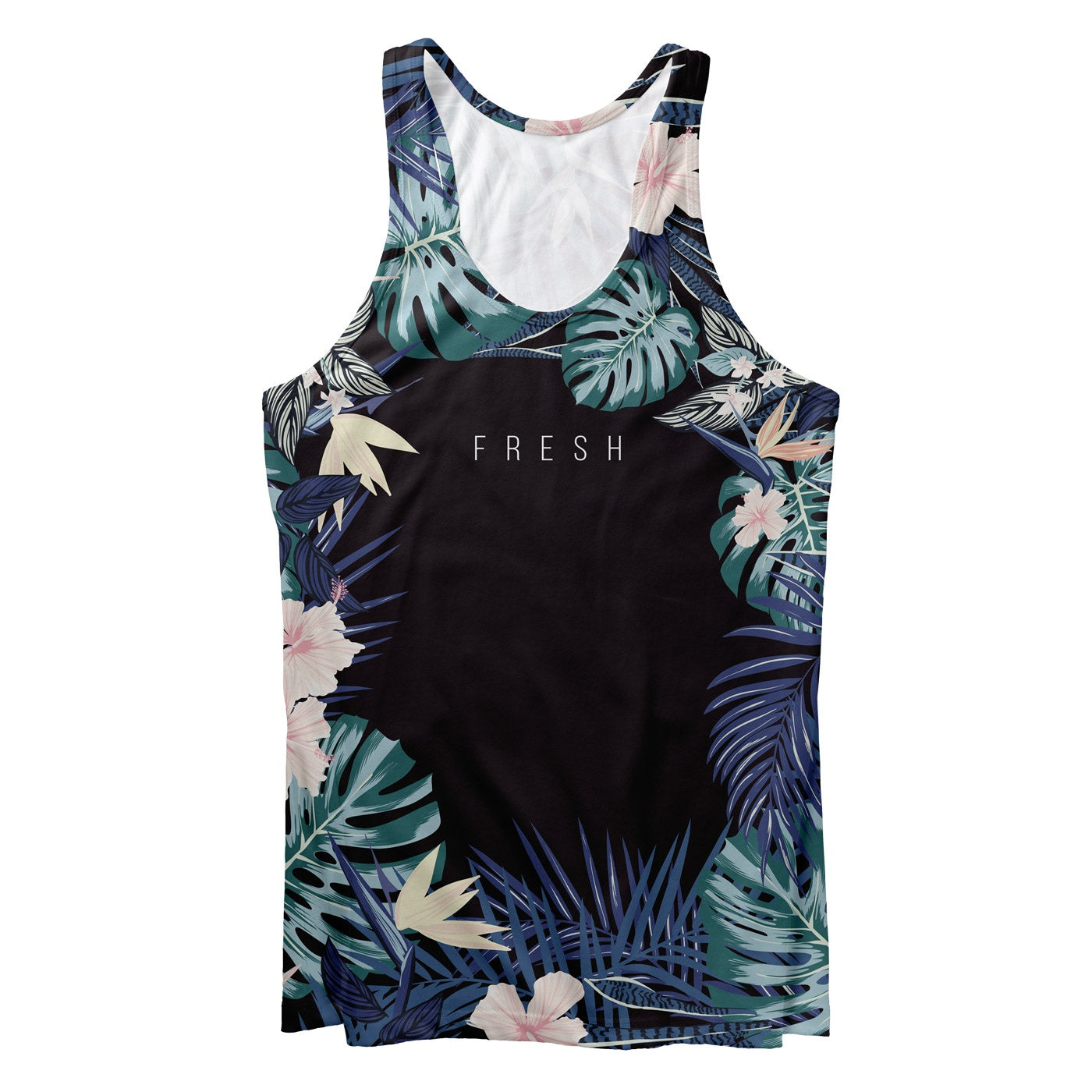 Dark Rosemallows Tank Top