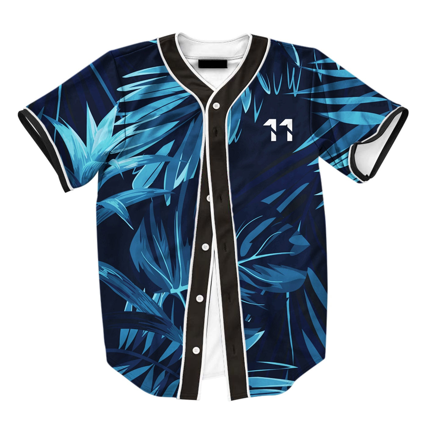Jungle Dark Floral Jersey