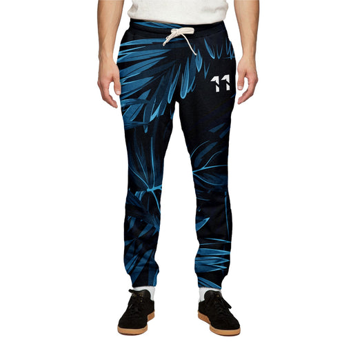 Jungle Dark Floral Sweatpants