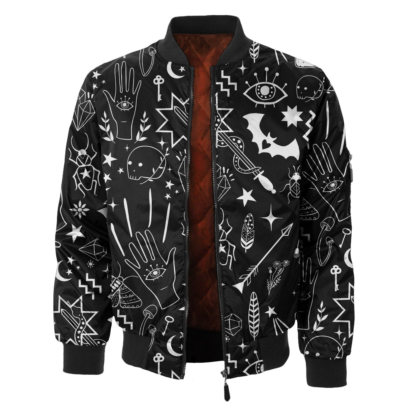 Enchanted Items Bomber Jacket