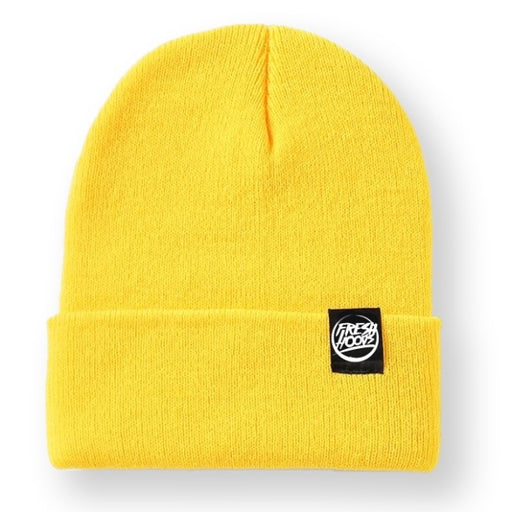 FH Yellow Cuffed Beanie