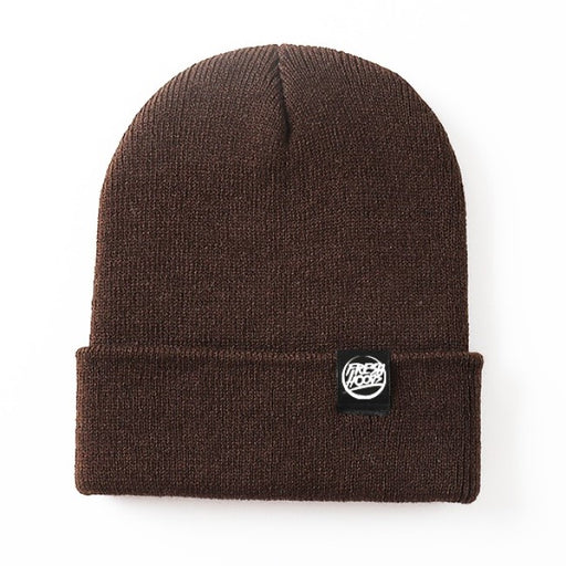 FH Brown Cuffed Beanie