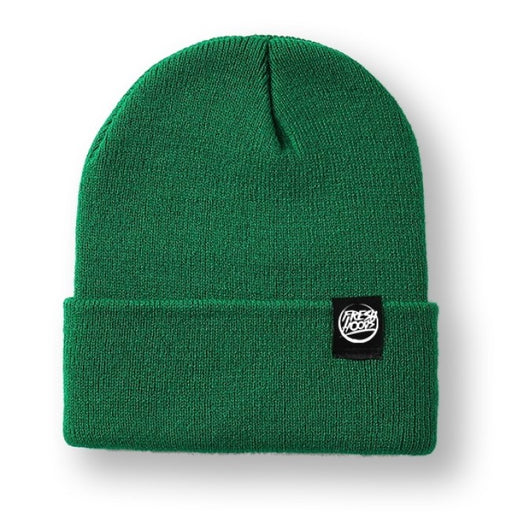 FH Dark Green Cuffed Beanie