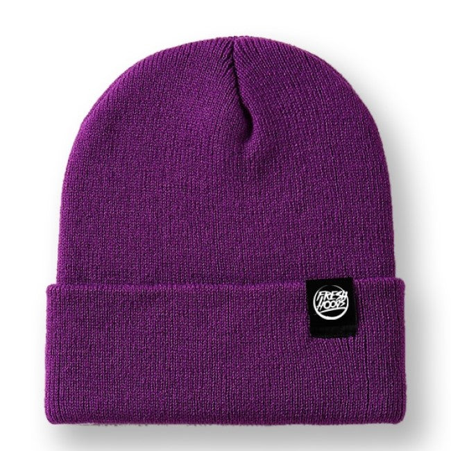 FH Purple Cuffed Beanie