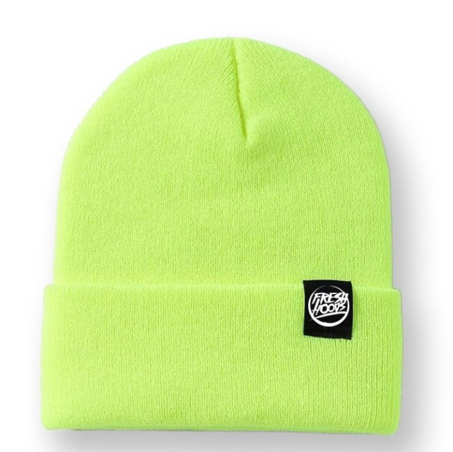 FH Marker Yellow Cuffed Beanie