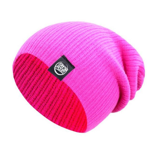FH Hot Pink Cuffless Beanie